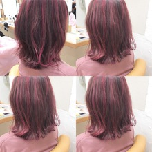 ピンクカラー♡